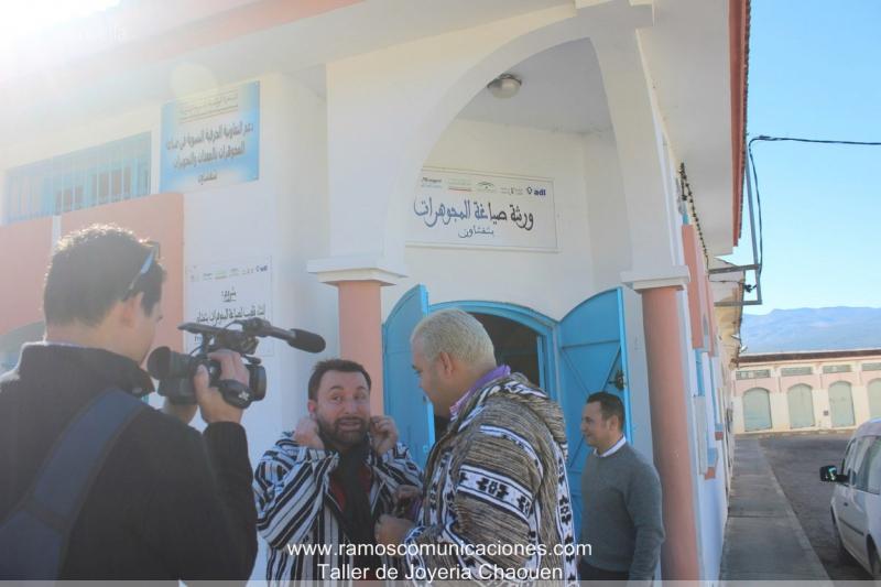 Официальный визит в Шефшауен в Марокко-2
