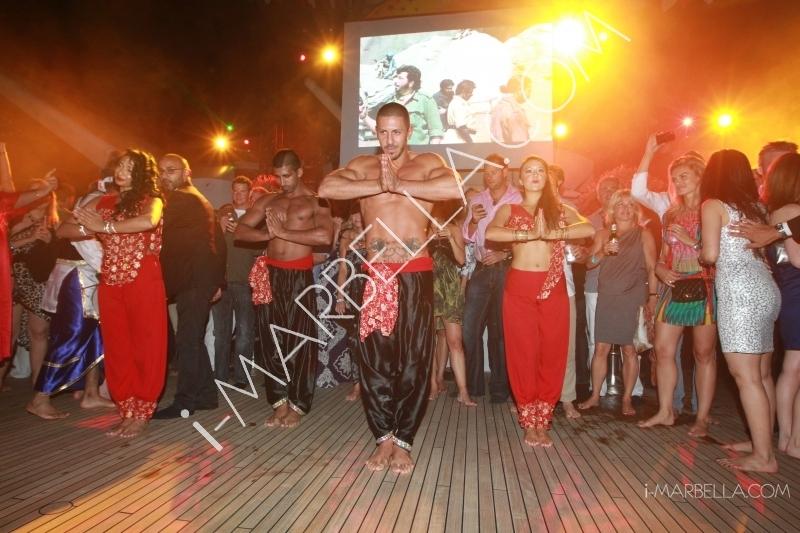 ГАЛЕРЕЯ: Открытие вечеринки Fly Kingfisher GP в Монако -